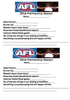 Footy Season Predictor
