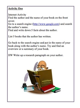 """""""For Any Novel"""" Reading Group Activity guide"""