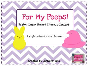 For My Peeps: Easter Candy Themed Literacy Stations