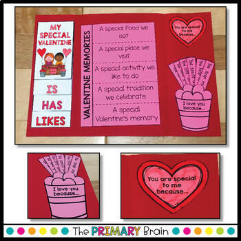 For My Valentine Lapbook - A Valentine's Day Keepsake Gift