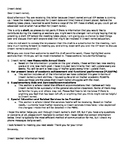 Draft IEP Explanation Letter