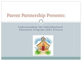 For Parents: Understanding the IEP Process