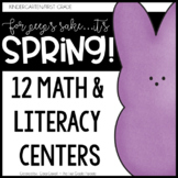 Spring Literacy & Math Centers