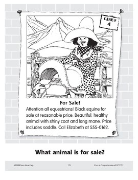For Sale: A Horse