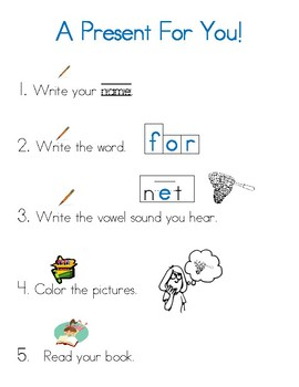 For Sight Word Mini Book