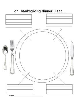 For Thanksgiving Dinner