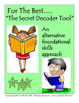 For The Best Secret Decoder Tool Alternative Foundational Skills Approach