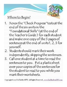 For The Best Understanding ReadyGEN Foundational Skills Grades 1 thru 5 BUNDLE