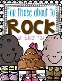 For Those About to Rock!  A Science and More Unit All About Rocks