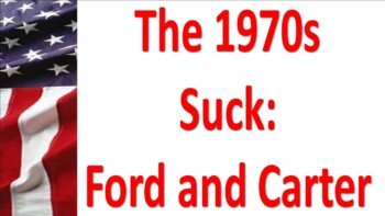 Ford and Carter:  The Magical 70's