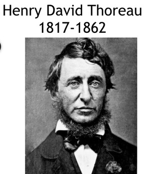For students, An Audio-Visual Lecture on Henry David Thoreau