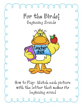 For the Birds-Beginning Sounds