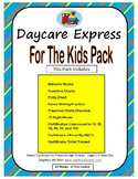 For the Kids Pack (Preschool Checklist, Name Writing, Sight Words, Charts &More)