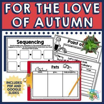 For the Love of Autumn Book Companion