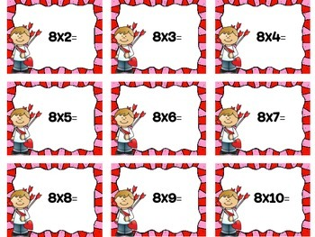 For the Love of Multiplication game