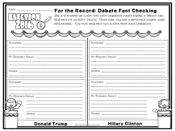 For the Record: Debate Fact Checking