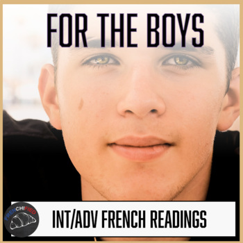 For the boys - readings to appeal to male French learners