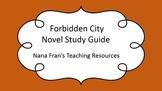 Forbidden City Novel Study Guide