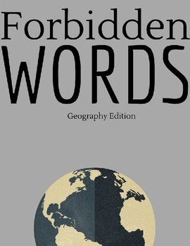 Forbidden Words: Geography Edition