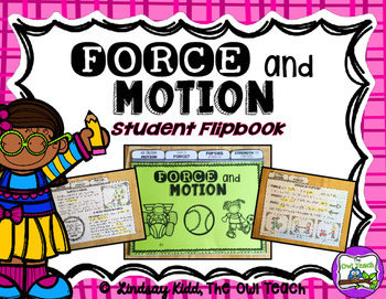 Force Unit:  Force and Motion Interactive Flipbook