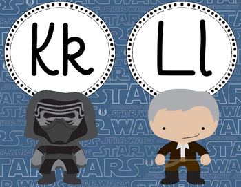 Force Awakens Alphabet