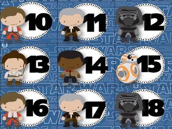 Force Awakens Calendar