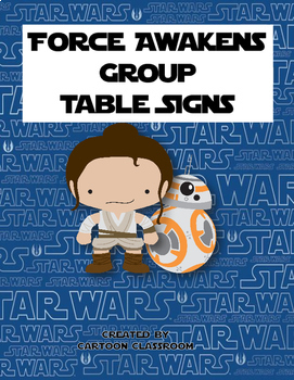Force Awakens Group Signs