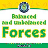 Force: Balanced and Unbalanced Forces - MAC Gr. 5-8