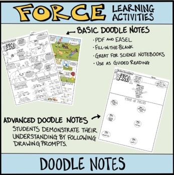 Force Comic with Doodle Notes