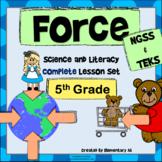 Force Complete Lesson Set Bundle (NGSS & TEKS)