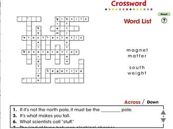 Force: Crossword - NOTEBOOK Gr. 5-8