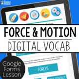 Force Digital Vocabulary | Distance Learning