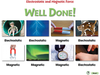 Force: Electrostatic and Magnetic Force - NOTEBOOK Gr. 5-8