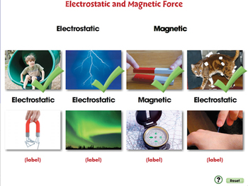 Force: Electrostatic and Magnetic Force - PC Gr. 5-8