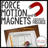 Force FREEBIE - Magnet Experiment