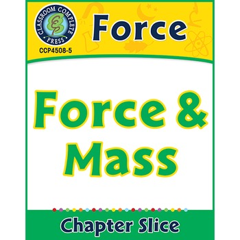 Force: Force & Mass Gr. 5-8