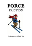 Force: Friction ( Worksheet and Topic Test)