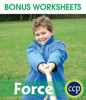 Force Gr. 5-8 - BONUS WORKSHEETS