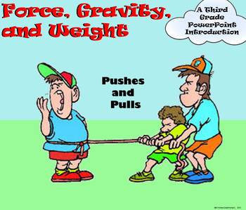 Force, Gravity, and Weight - A Third Grade PowerPoint Review