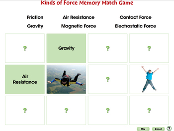 Force: Kinds of Force - MAC Gr. 5-8