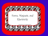 Force, Magnets, and Electricity Smartboard Unit