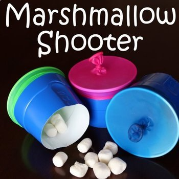 Force- Marshmallow Shooter  Printable Visual Instructions