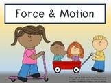 Force & Motion Activity Bundle w/ Venn Diagrams