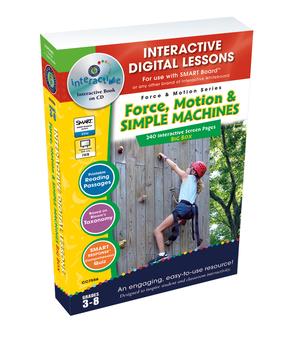 Force & Motion BIG BOX - NOTEBOOK Gr. 5-8
