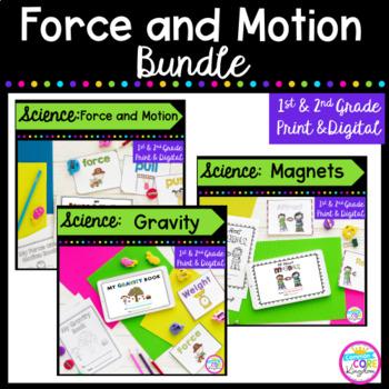 Force & Motion Bundle with Bonus Pack- 1st & 2nd Grade