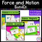 Force & Motion Bundle- 1st & 2nd Grade Google Slides Distance Learning Pack