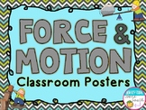 Force & Motion Classroom Posters
