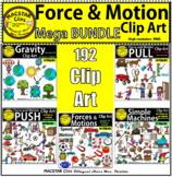 Force & Motion Clip Art MEGA BUNDLE   Commercial Use