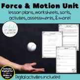 Force, Motion, & Energy Unit {Digital & PDF Included}