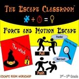 Force & Motion Escape Room (3-5 Grade) | The Escape Classroom